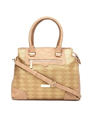 Addons Brown Handbag
