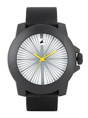 Fastrack Tees Men White Dial Watch 38021PP04J