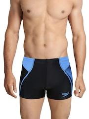 Speedo Men Blue Aquashort Swimming Trunks
