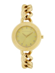 Giordano Women Gold-Toned Dial Watch 2755-33