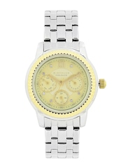 GIORDANO Premier Women Gold-Toned Dial Watch P2045-11