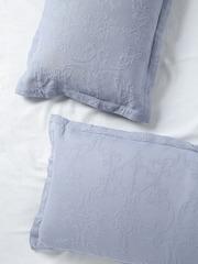 MASPAR Set of 2 Blue 20 x 30 Rectangular Pillow Sham Covers