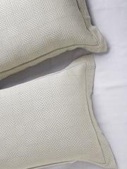 MASPAR Beige Set of 2 Patterned 20 x 30 Rectangular Pillow Covers
