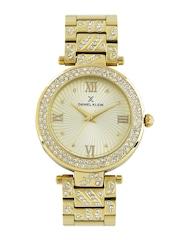 Daniel Klein Women Muted Gold-Toned Dial Watch DK10964-1