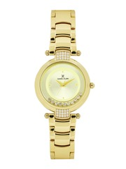 Daniel Klein Women Gold-Toned Dial Watch DK11014-3