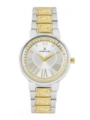 Daniel Klein Women Silver-Toned Dial Watch DK11017-3