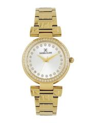 Daniel Klein Women Silver-Toned Dial Watch DK11089-1