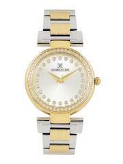 Daniel Klein Women Silver-Toned Dial Watch DK11089-3