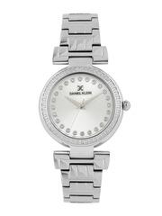 Daniel Klein Women Silver-Toned Dial Watch DK11089-4