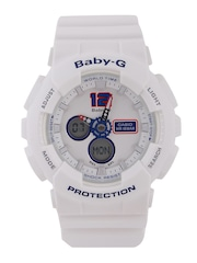 Casio Baby-G Women White Multifunction Analogue & Digital Watch BX054