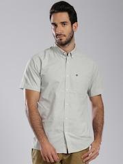 Quiksilver Grey Casual Shirt