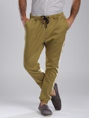 Quiksilver Khaki Jogger Trousers