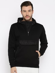 HRX by Hrithik Roshan Black Hooded Jacket