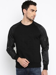 HRX by Hrithik Roshan Black Sweatshirt