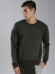 HRX by Hrithik Roshan Charcoal Grey Sweatshirt