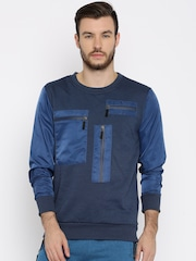 HRX by Hrithik Roshan Blue Sweatshirt