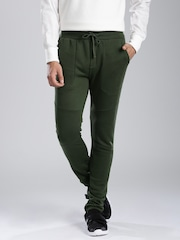 HRX by Hrithik Roshan Olive Green Track Pants