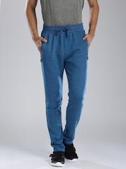 HRX by Hrithik Roshan Teal Blue Track Pants