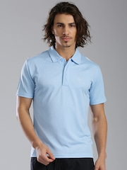 HRX by Hrithik Roshan Blue Polo T-shirt