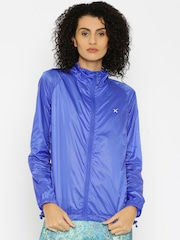 HRX by Hrithik Roshan Blue Windcheater Jacket