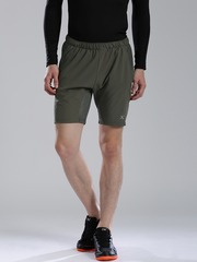 HRX by Hrithik Roshan Charcoal Grey Active Shorts