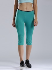 HRX by Hrithik Roshan Turquoise Blue Active Tights