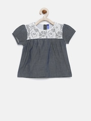 YK Infant Girls Grey Top