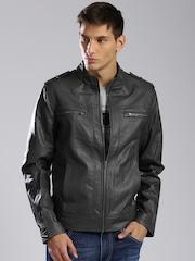 HRX by Hrithik Roshan Men Black Jacket