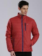HRX by Hrithik Roshan Red Puffer Jacket