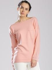 HRX by Hrithik Roshan Pink Sweater