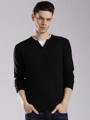 HRX by Hrithik Roshan Men Black Sweater