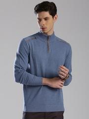 HRX by Hrithik Roshan Blue Sweater