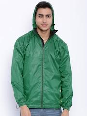 Sports52 wear Green Printed Rain Jacket