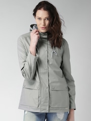 Mast & Harbour Grey Hooded Jacket