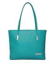 Lisa Haydon for Lino Perros Teal Green Textured Shoulder Bag