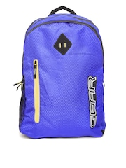 Gear Unisex Blue Textured Backpack