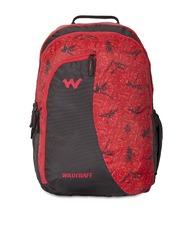 Wildcraft Unisex Red Printed Backpack