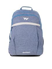 Wildcraft Unisex Blue Melange Backpack