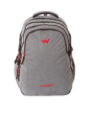 Wildcraft Unisex Grey Melange Laptop Backpack