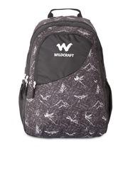 Wildcraft Unisex Black Printed Backpack