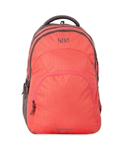 Wiki by Wildcraft Unisex Coral Pink Backpack