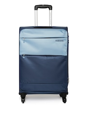 AMERICAN TOURISTER Unisex Blue Cheer-Lite Large Trolley Bag