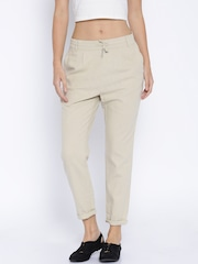 ONLY Beige Casual Trousers