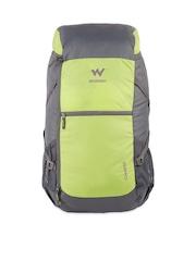 Wildcraft Unisex Green & Grey Rucksack