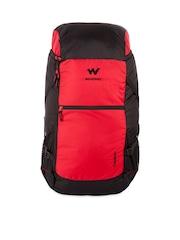 Wildcraft Unisex Red & Black Rucksack