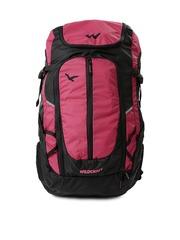 Wildcraft Unisex Black & Pink Rucksack