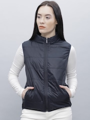 ether Navy Sleeveless Uber Light Jacket
