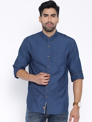 Locomotive Blue Casual Shirt