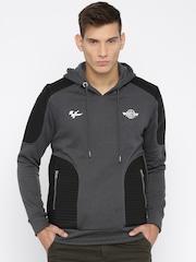 RDSTR Charcoal Grey MotoGP Hooded Sweatshirt