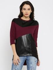 RDSTR Maroon & Black Sweatshirt